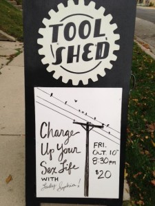 Come learn about electrical play with me at Tool Shed in Milwaukee, WI on Friday October 10th at 8:30pm.